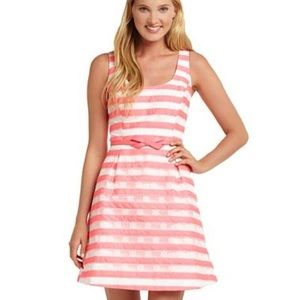 Lilly Pulitzer Joslin Pink White Embroidered  8
